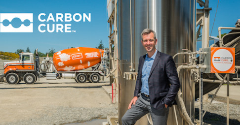 CarbonCure closes strategic investment led by Breakthrough Energy Ventures Thumbnail