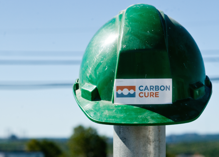 CarbonCure Hard Hat