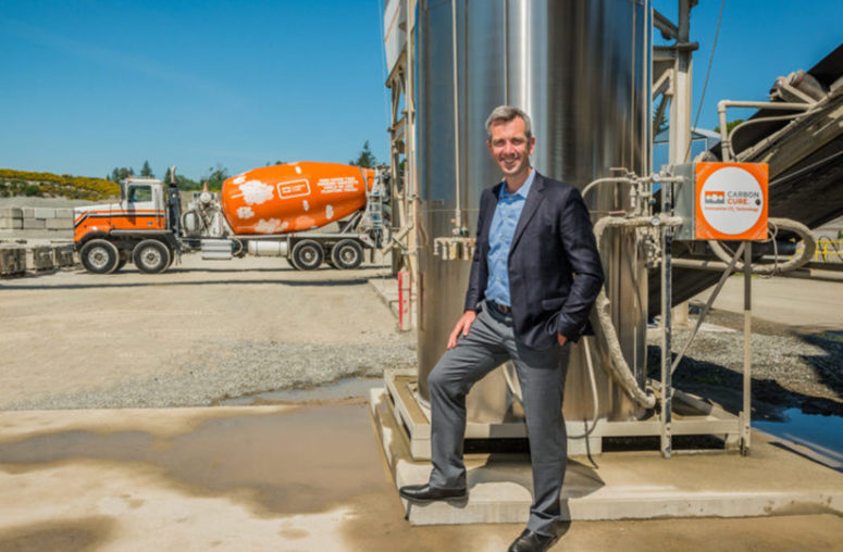Q&A: CarbonCure's Rob Niven Plans to 'Expand Portfolio of Technologies'