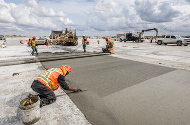 High-tech, low-carbon concrete project a Canadian first at YYC  Calgary International Airport Thumbnail