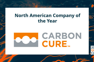 CarbonCure named 2020 North American Cleantech Company of the Year by Cleantech Group Thumbnail