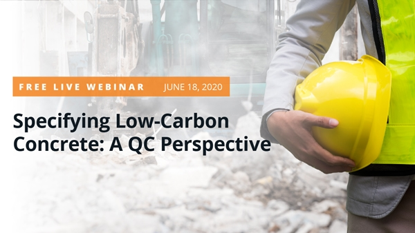 Specifying Low-Carbon Concrete: A QC Perspective Panel 2