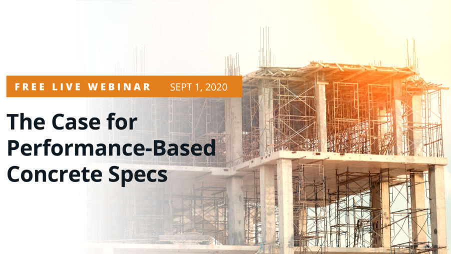 The Case for Performance-Based Concrete Specs Thumbnail
