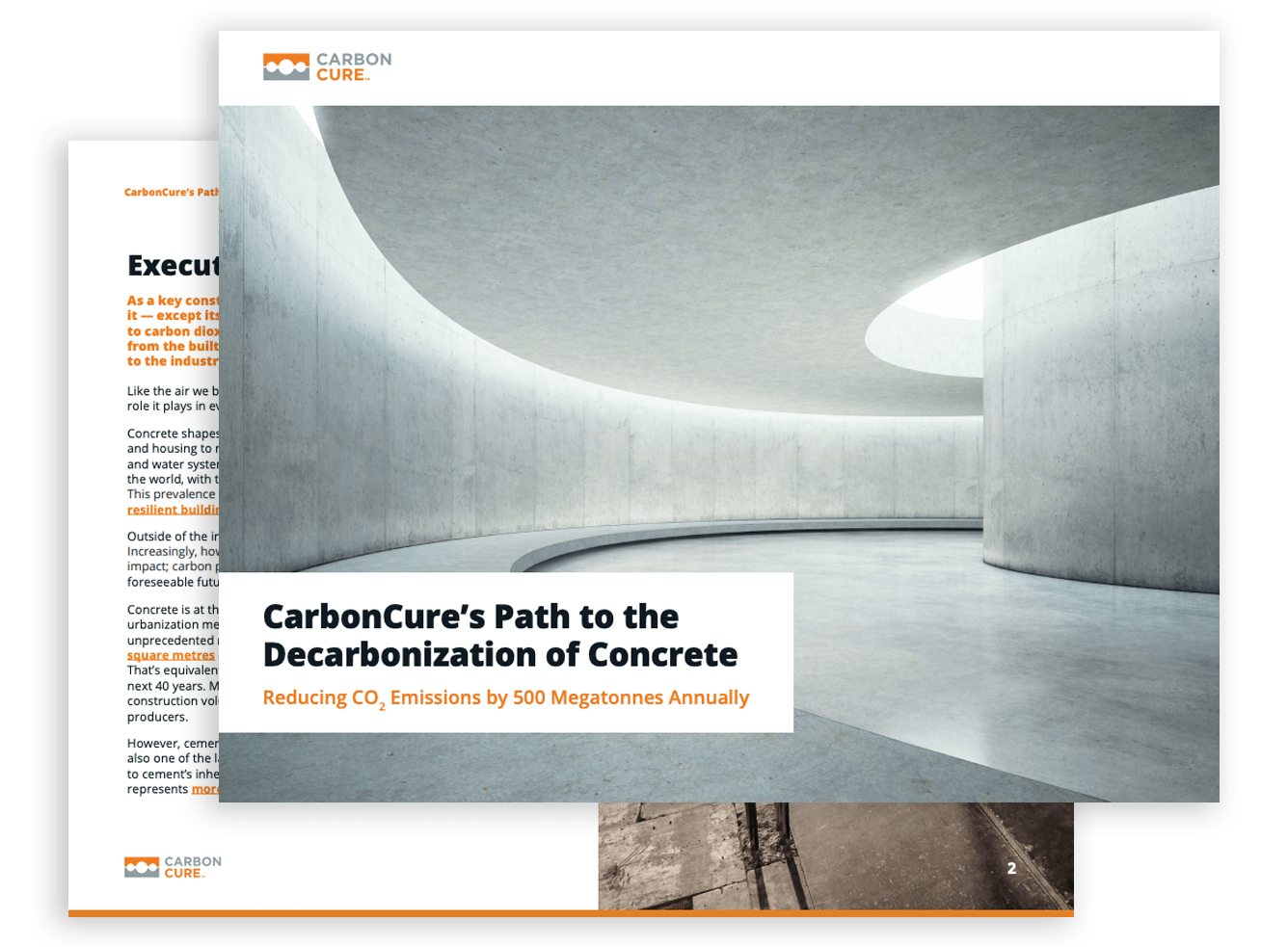 CarbonCure's Path to the Decarbonization of Concrete