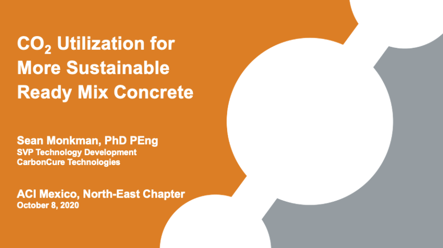 CO₂ Utilization for More Sustainable Ready Mix Concrete Thumbnail