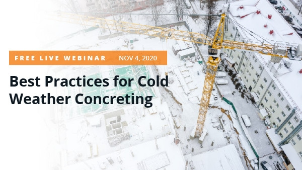 Best Practices for Cold Weather Concreting Thumbnail