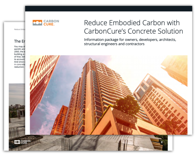 CarbonCure Information Package for Designers and Builders Thumbnail