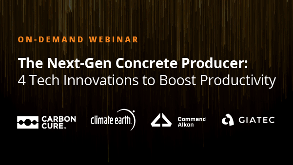 The Next-Gen Concrete Producer: 4 Tech Innovations to Boost Productivity