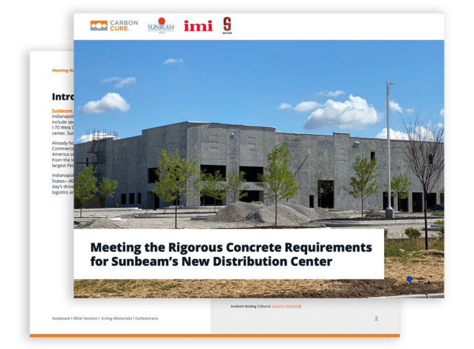 Meeting Rigorous Concrete Requirements for the Sunbeam Distribution Centre Thumbnail