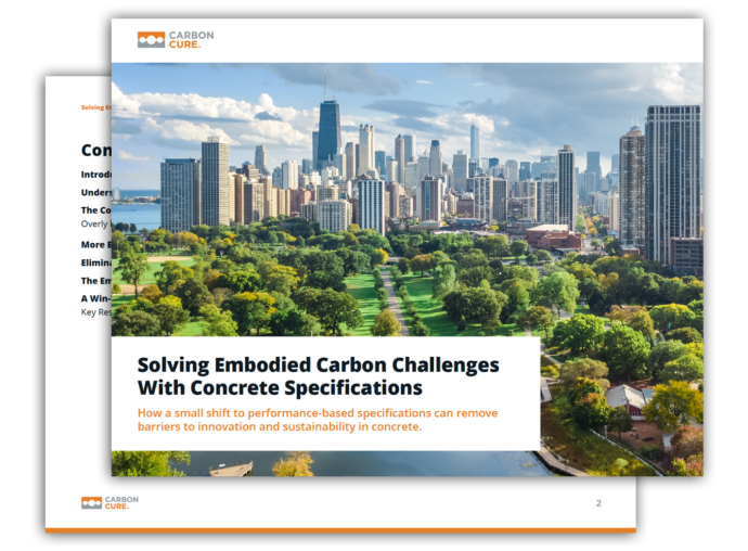 Solving Embodied Carbon Challenges with Concrete Specifications Thumbnail